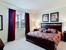Master bedroom with master bath- Bradenton single family residence