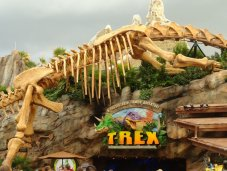 TREX, dinosaur themed dining