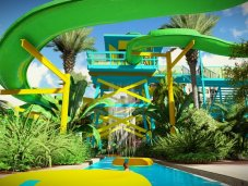 Surfari Water Park - two-story slides