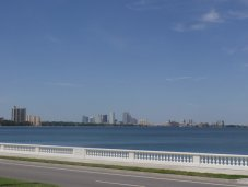 Tampa view from Bayshore Blvd.